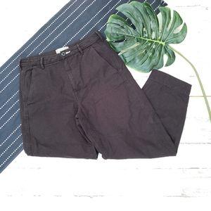 Everlane  The Arc Canvas Pant Cotton Black Size 4